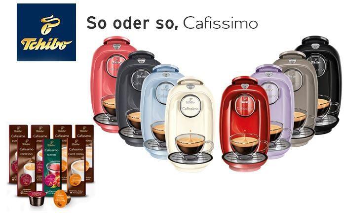 Tchibo Cafissimo PICCO rot + 70 Kapseln + 40 Monaten Garantie für nur 22,98€