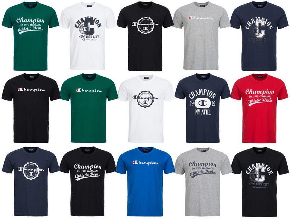 Champion T Shirt CHAMPION Herren T Shirt bis L für je 12,99€