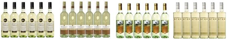 Ausgewählter Weißwein bis zu 40% reduziert nur heute bei Amazon