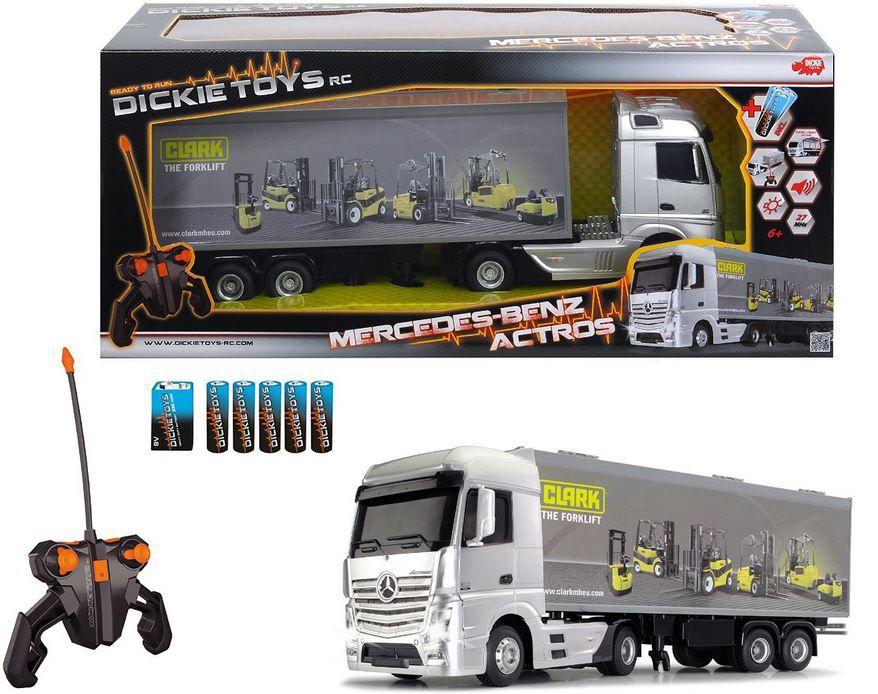 Dickie Spielzeug   ferngesteuerter Mercedes Benz Actros Truck für 39,90€