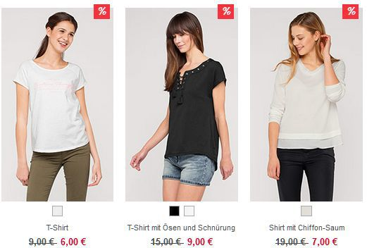C&A mit 11€ Extra Rabatt auch im Sale   heute keine Versandkosten