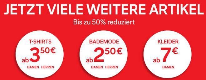 Cunda Sale C&A Sommer SALE mit bis zu 70% Rabatt + 10% Gutschein