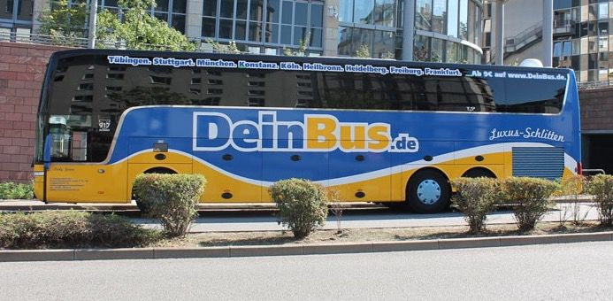 DeinBus Hin  und Rückfahrt ab 9€ durch Deutschland