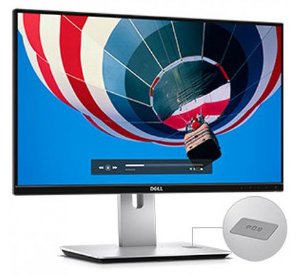 Dell UltraSharp U2417HJ   24 Zoll Full HD Monitor + Qi Ladestation für 195€ (statt 245€)