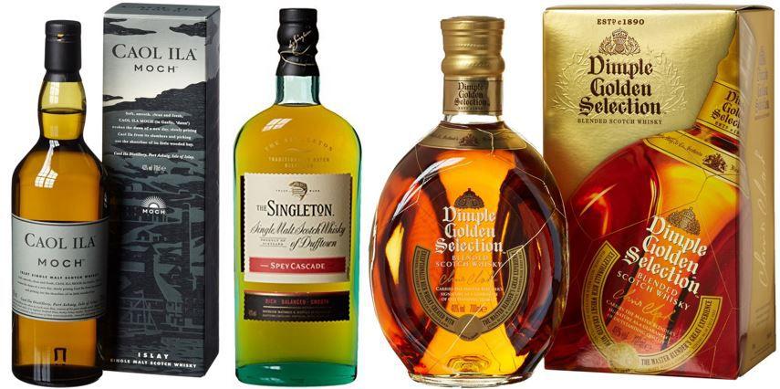 Dimple Whisky : ausgewählte Artikel heute mit bis zu 24% Rabatt!