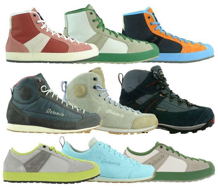 Dolomite Ledersneaker für Damen und Herren für 9,99€