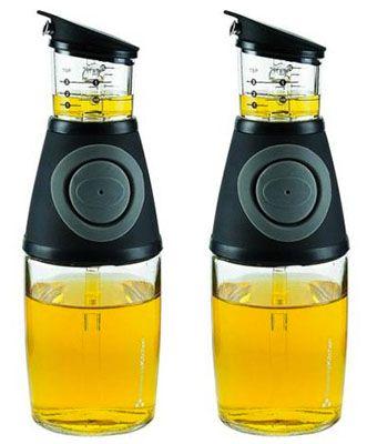 Doppelpack Essig  und Ölspender 250 ml mit Dosierpumpe für 14,99€ (statt 21€)