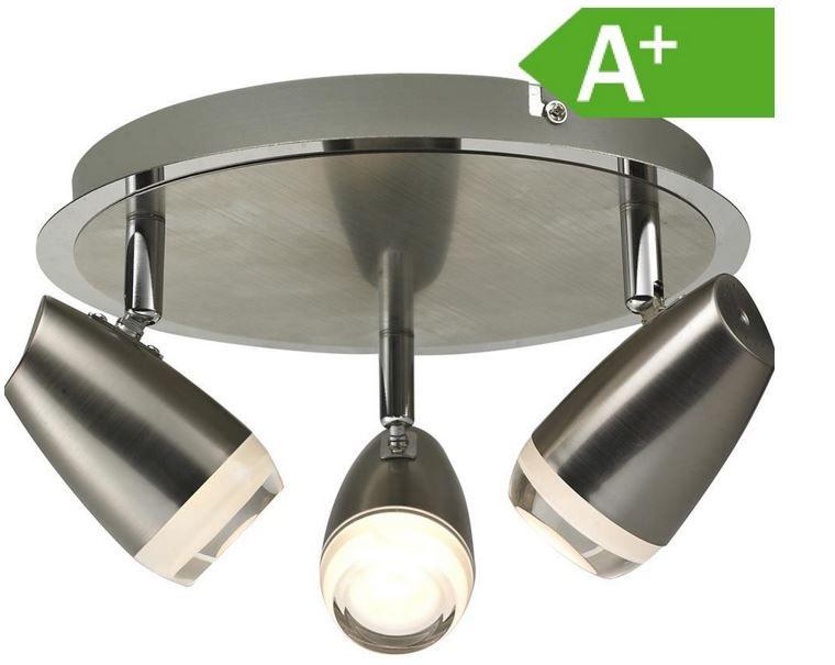 Ausverkauft! Esto Lighting Eye   3 x 4 Watt LED Spotleuchte für nur 19,99€
