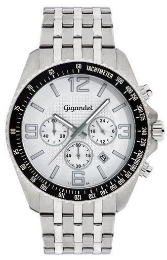 Fast Track Uhr Gigandet Fast Track Herren Uhr mit Mineralglas und Seiko Kaliber VD53 statt 84€ für 71,51€