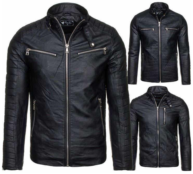 Feifa Fashion   Biker Herren Jacke für 39,95€