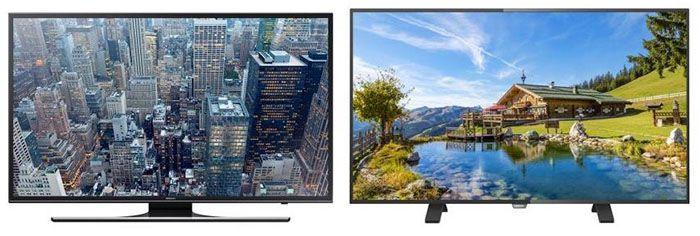 Gratis bis zu 200€ Gutschein auf ausgewählte TVs   z.B. Samsung UE48JU6550 für eff. 694€ (statt 850€)