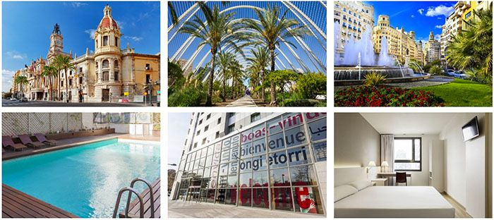 Flugreise nach Valencia Flugreise nach Valencia + TOP 3* Hotel mit Frühstück ab 149€ p.P.