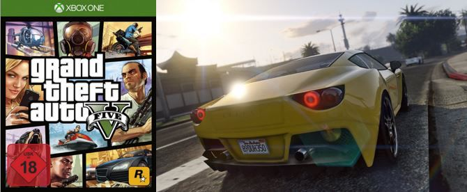 Grand Theft Auto V   Xbox One USK 18 Game für 26€ (statt 33€)