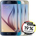 Samsung Galaxy S6 32GB für rechnerisch 259€ (statt 323€)