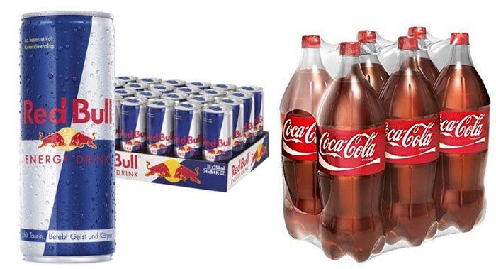 Letzter Tag! 20% auf ausgewählte Pfandgetränke bei Amazon ab 30€   Red Bull uvm.