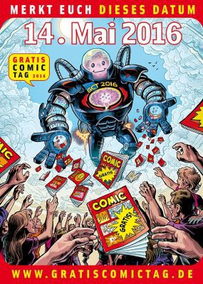Gratis Comic Tag 2016 Gratis Comic Tag (14. Mai 2016)