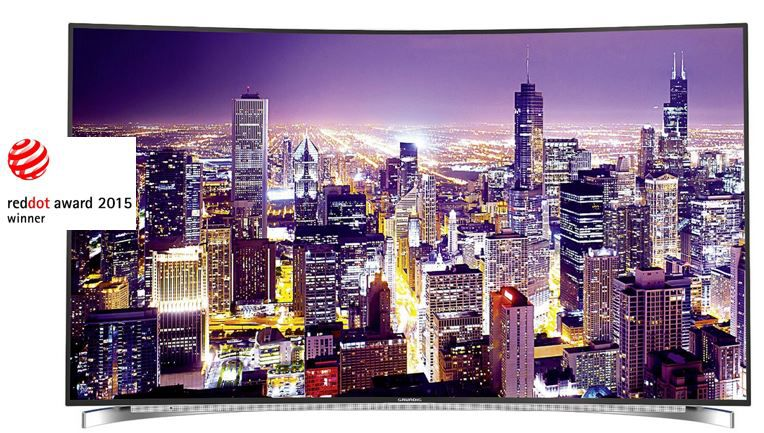 Grundig Fine Arts FLX 9591   65 Zoll 3D UHD curved TVs für 1.799€