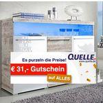 Quelle.de heute mit 31€ Extra Rabatt ab 150€ MBW