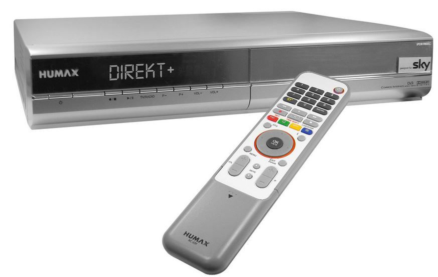 HUMAX iPDR 9800 C HUMAX iPDR 9800 C   TWIN DVB C Festplatten (160GB) Receiver für 19,99€