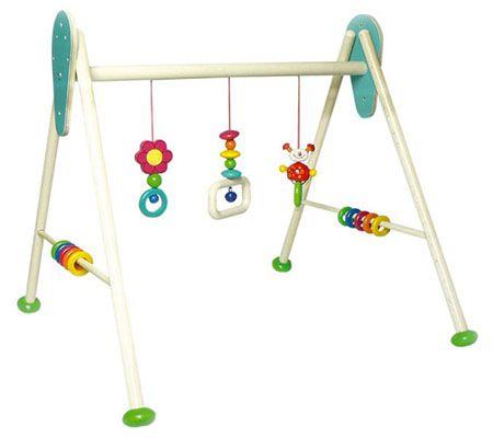 Hess 13373 Babyspielgerät aus Holz für 29€ (statt 44€)