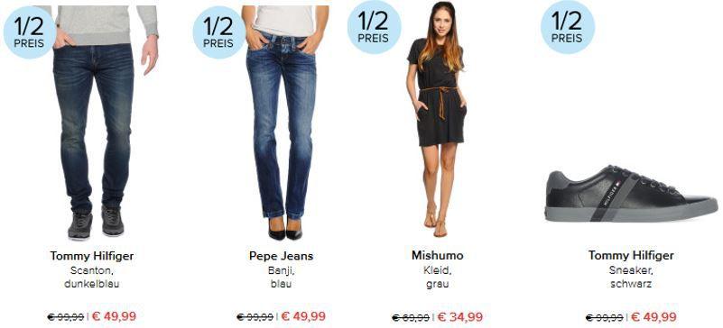 Hilfiger Sneaker schwarz dress for less vieles zum halben Preis + 10% Gutschein + VSK frei