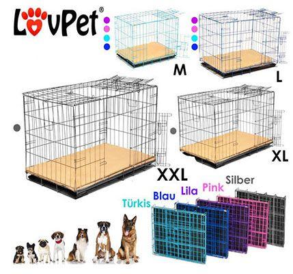 Hundetransportboxen in verschiedenen Größen ab 22,95€