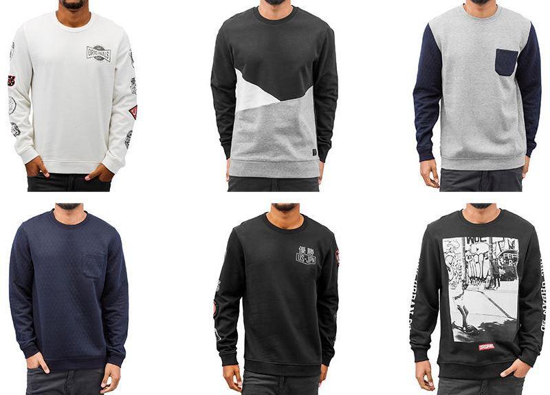 Jack und Jones Sweatshirt Angebot Jack & Jones Herren Sweartshirts für je 26,99€