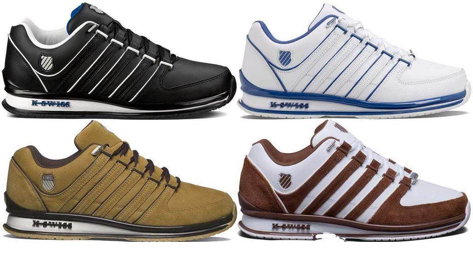 K Swiss Retro  K SWISS Rinzler Retro 02283   Leder Sneaker für Damen und Herren je 54,95€