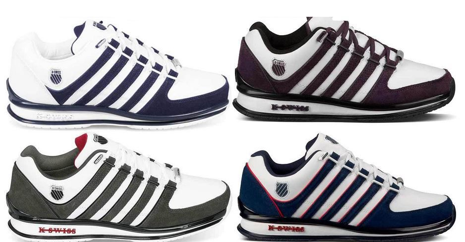 K Swiss eBay Angebot  K SWISS Rinzler Retro 02283   Leder Sneaker für Damen und Herren je 54,95€