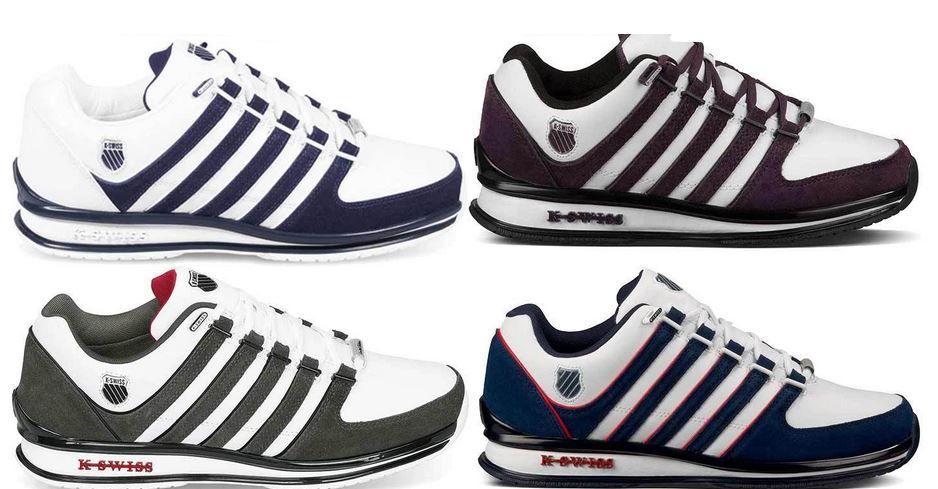 sale retailer a9b6d e392a K-SWISS Rinzler Retro 02283 - Leder Sneaker für Damen und ...