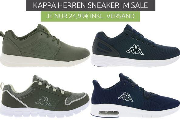 Viele verschiedene Kappa Sneaker für je 24,99€