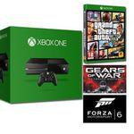 X-Box one + Gear of War + GTA V + Forza 6 für nur 305,59€