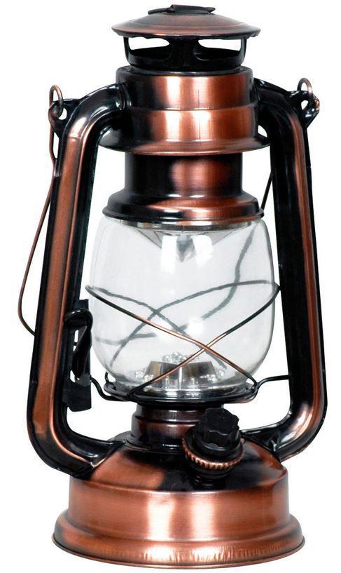 LED Campinglaterne LED Campinglaterne im Kupfer Retro Style als Doppelpack für 19,90€