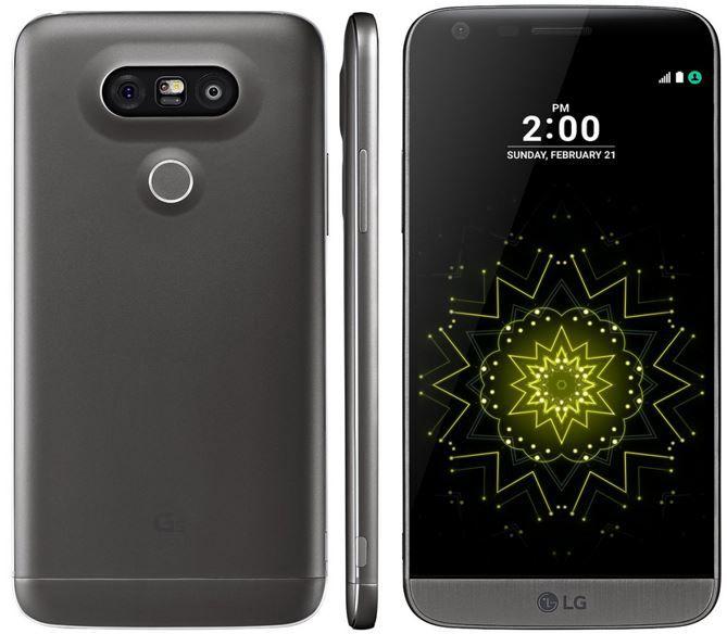 LG G5 H850   5,3 LTE Android Smartphone (B Ware) für 389,90€
