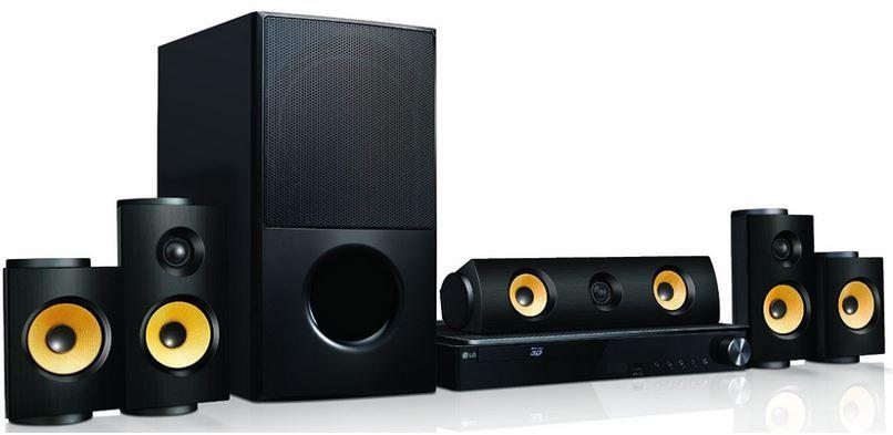 LG LHA825 LG LHA825W   3D Blu ray Heimkinosystem statt 331€ für 279€