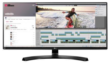 10% Rabatt auf LG Monitore + VSK frei   z.B. LG 34UM57 P für 359€ (statt 396€)