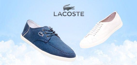 Lacoste Schuhe Lacoste Sneaker ab 27€ bei vente privee
