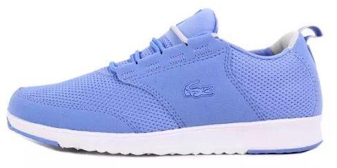 Lacoste L.ight 216 1 SPW Blue Damen Sneaker für 79€ (statt 99€)