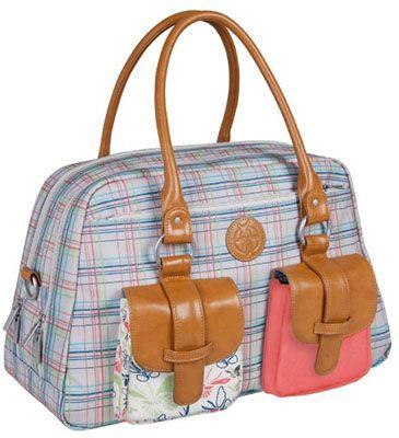 Laessig Metro Bag Lässig Metro Bag Vintage Wickeltasche für 44,99€ (statt 60€)