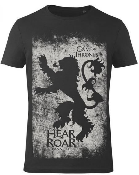 Game Of Thrones Herren T Shirt: Lannister   ab 19,99€