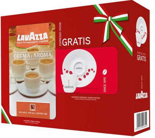 Lavazza Espresso Crema e Aroma 1KG Geschenkset mit Tasse ab 10,99€
