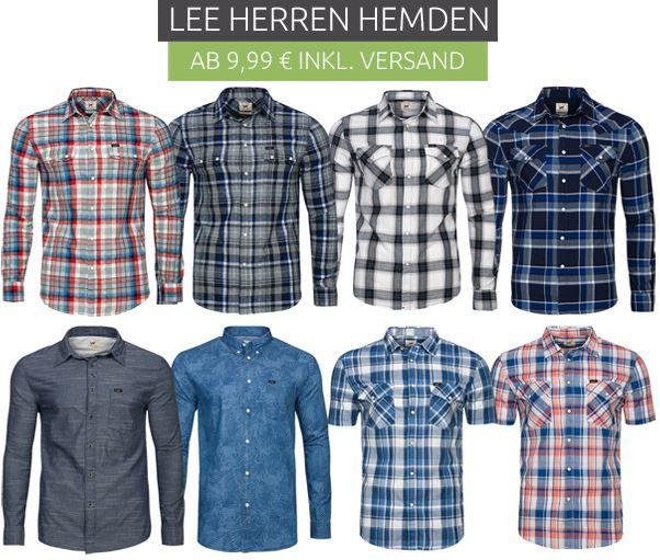 Lee Herren Hemden Sale Lee   Herren Hemden für nur 9,99€ (statt 19€)