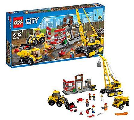 Lego City 60076 Abriss Baustelle für 39,98€ (statt 49€)