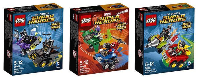 Lego Mighty Micros   nimm 3 zahl 2 bei ToysRUs