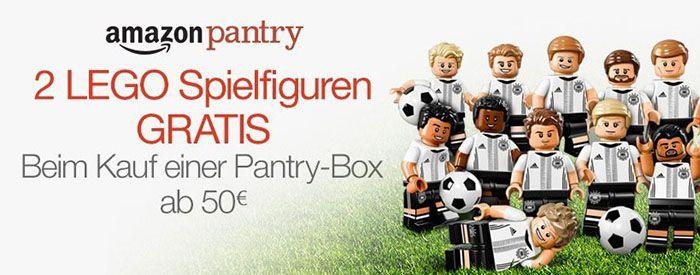 2 Lego Spielfiguren gratis zu jeder Amazon Pantry Box ab 50€