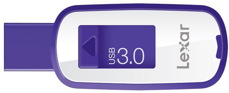 Lexar S25 lila Lexar S25 JumpDrive   64 GB USB 3.0 Stick ab 17,90€