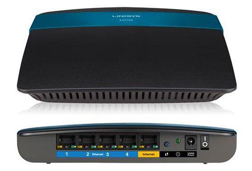 Linksys EA2700 Linksys EA2700 Smart Wifi Dual Band Wireless Gbit Router für 45,90€ (statt 73€)