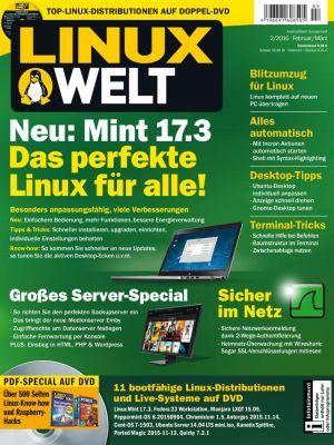 Linux Welt Ausgabe 02/2016 kostenlos (statt 8,50€)