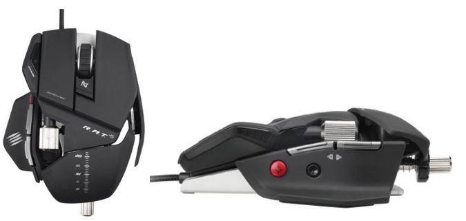 Mad Catz Rat 5 Mad Catz R.A.T.5 Gaming Maus für PC und MAC nur 39€
