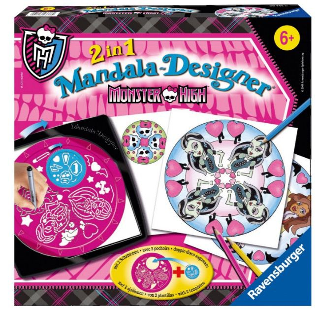 Ravensburger Monster High Mandala Designer ab 7,99€ (statt 14€)